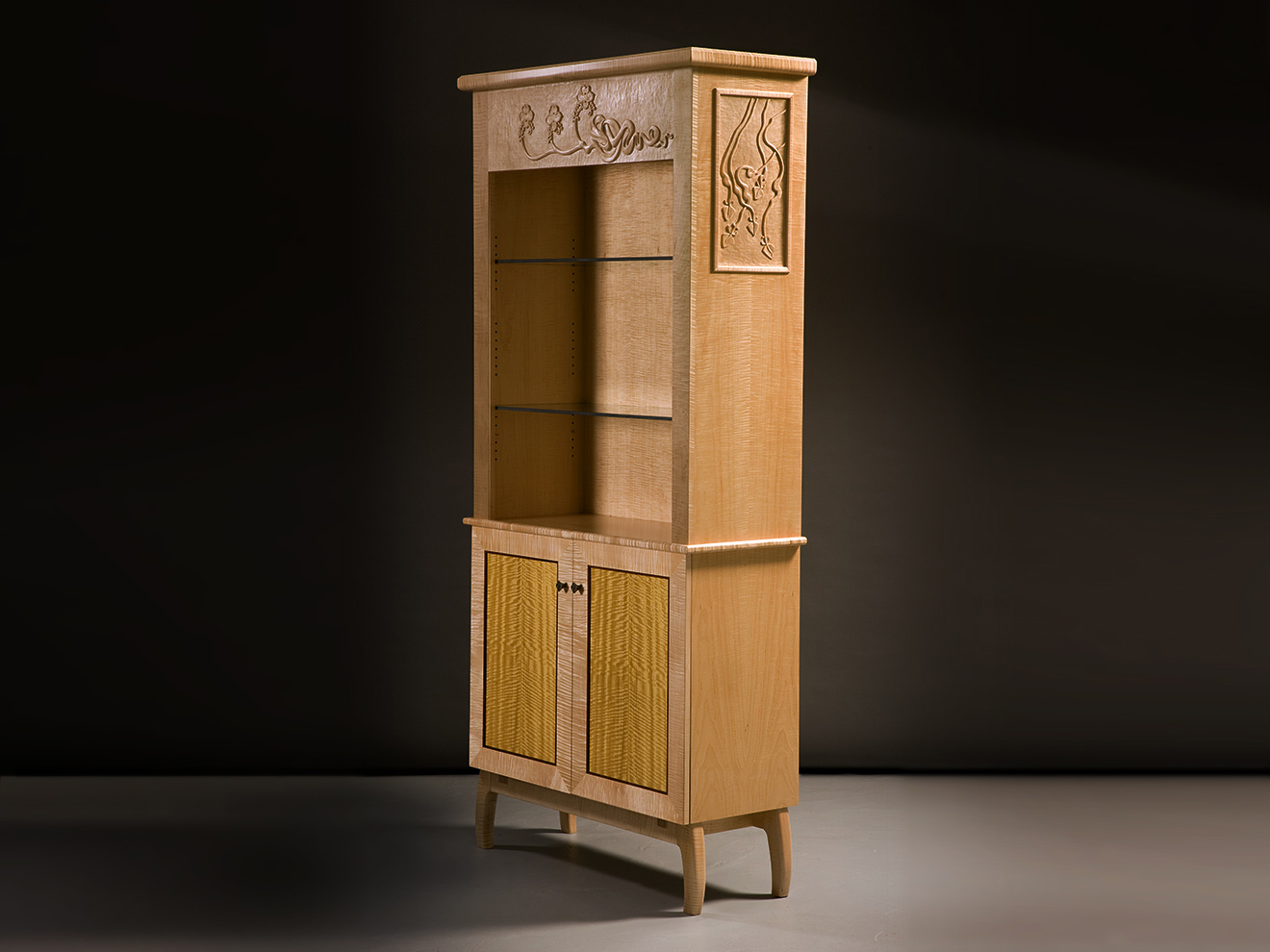 Twin Display Cabinet, single view, by Tom Lederer