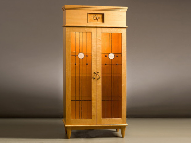 Water Lily Cabinet by Tom Lederer